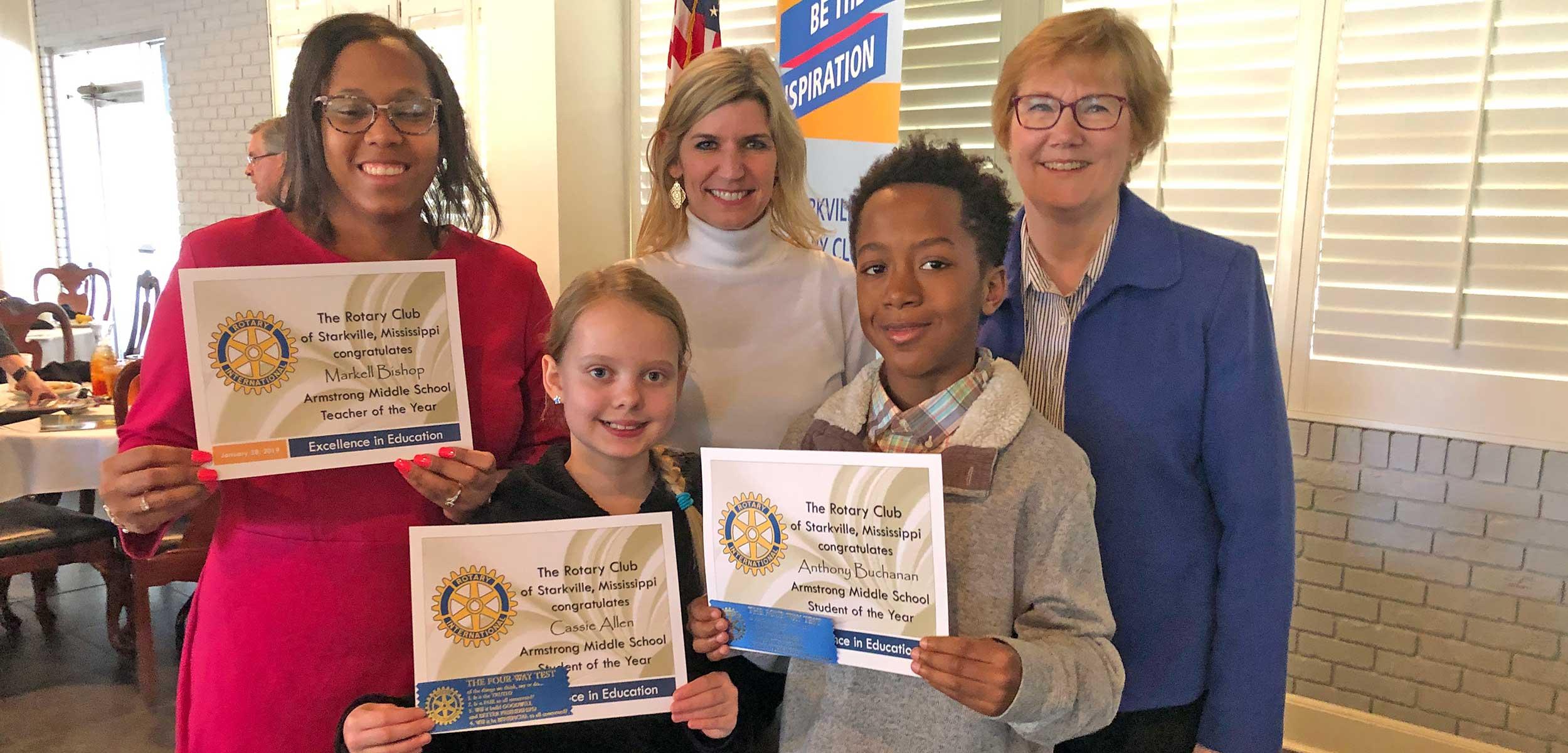 Teacher & Student Honors